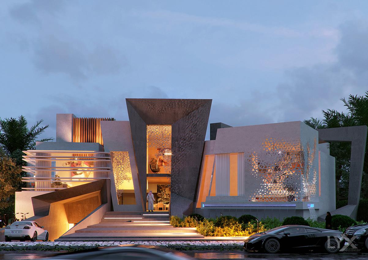 Deconstructive Villa