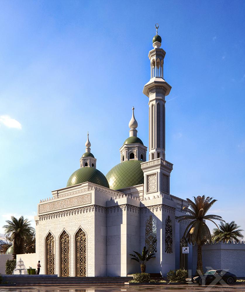 Sharjah  Mosque 5