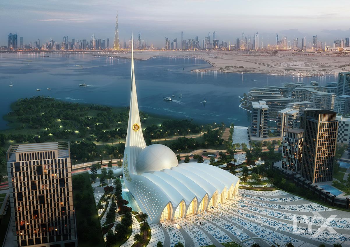 DUBAI ICONIC MOSQUE