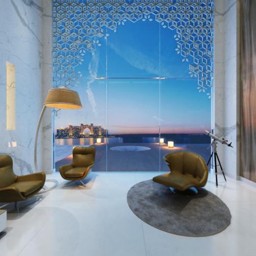 Palm Villa- Living